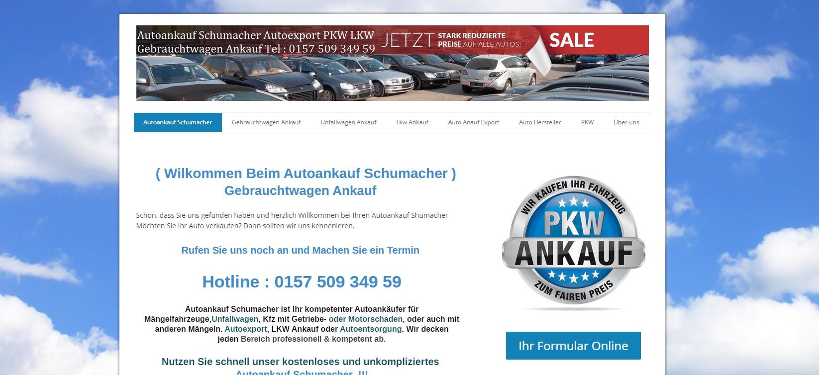 autoankauf-schumacher.de - Autoankauf Konstanz